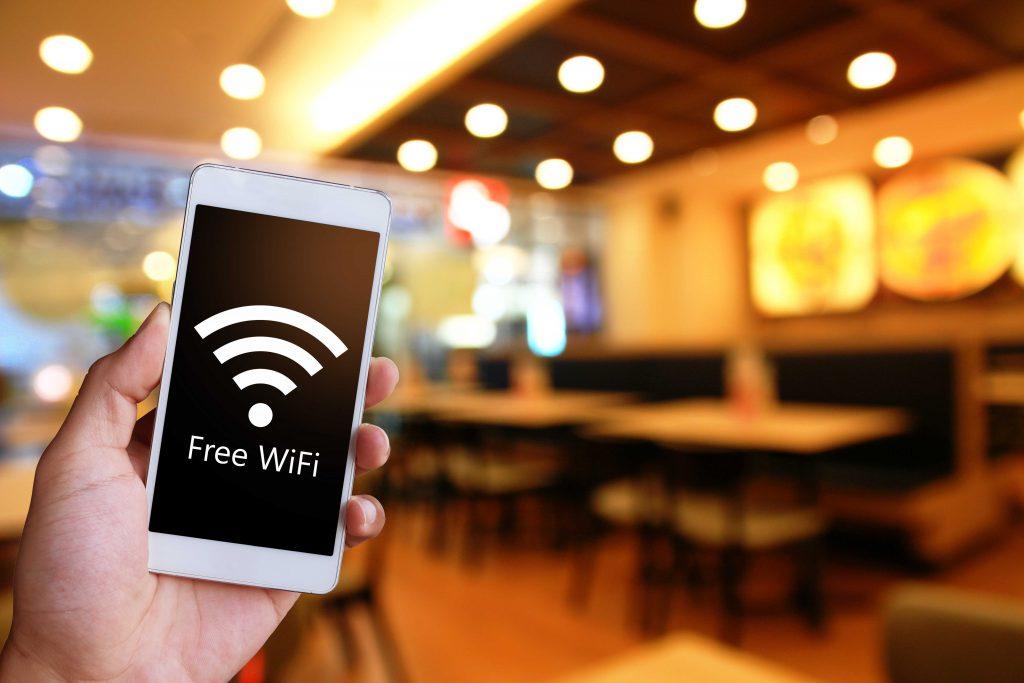 wifi gratuit dans les restaurants