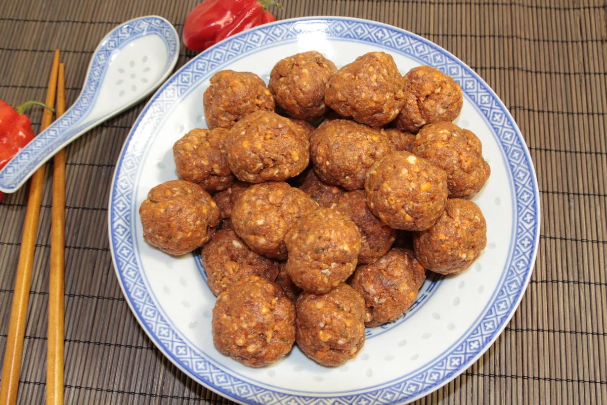 boulettes de viande chinoises